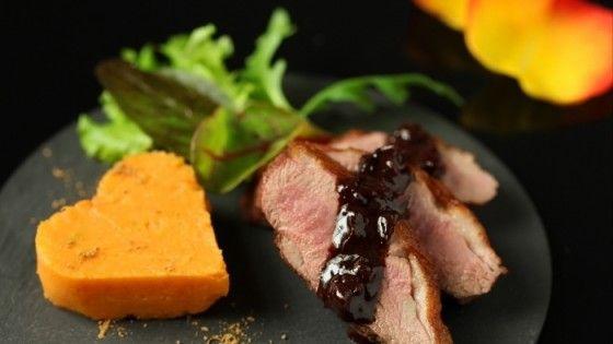 Filet de canette au four vapeur et sa délicieuse purée de patates doucesLES ACTUS DU STUDIO DE LA CUSINE