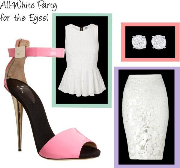 All-White Party for the Eyes