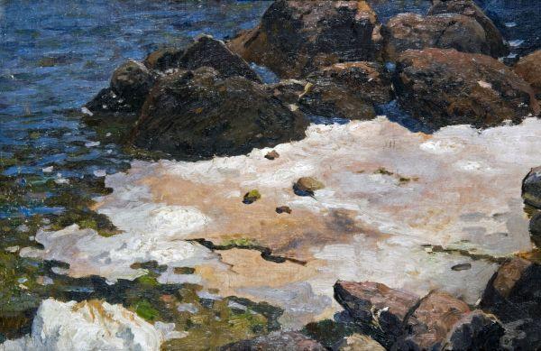 Krym - brzeg morza - Ferdynand Ruszczyc