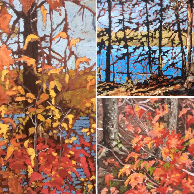 New paintings by Grant Morden. Ottawa artist, Canadian artist.