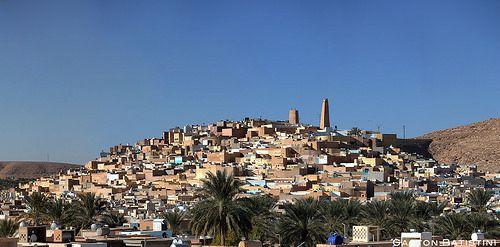 Beni Izgen, Ghardaïa, Mzab Valley, Sahara desert, Algeria, Norht Africa