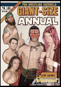Pro Wrestling Guerrilla DVD - Giant-Size Annual #4