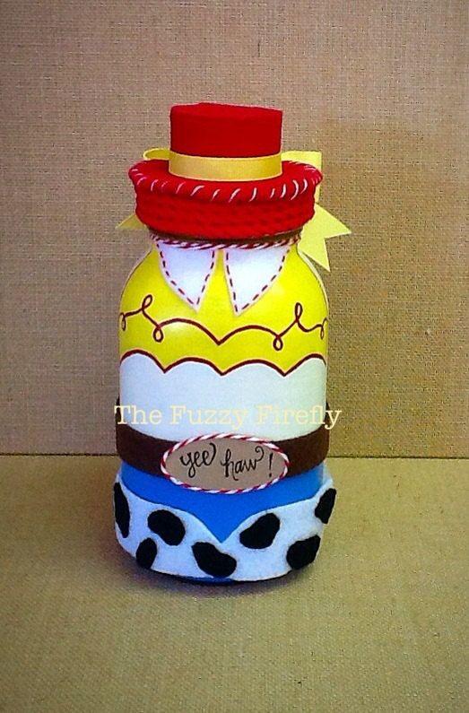 Handmade Jessie from Toy Story Inspired Mason by TheFuzzyFirefly