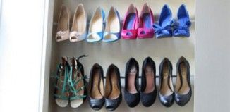 18 DIY Shoe Storage Ideas for Small Spaces