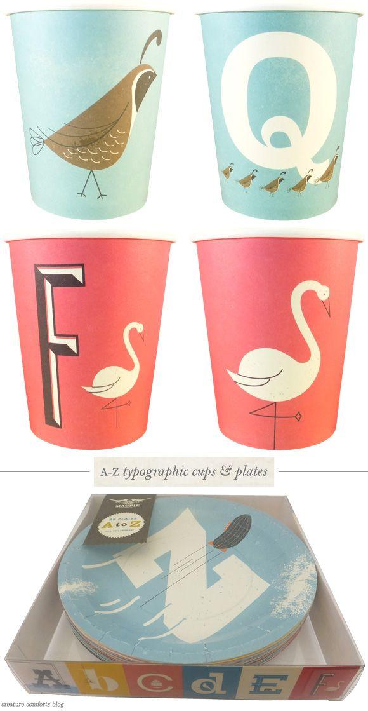 Typographic PaperCups