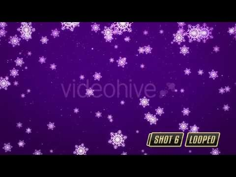 Falling Snowflakes Pack || Videohive - YouTube