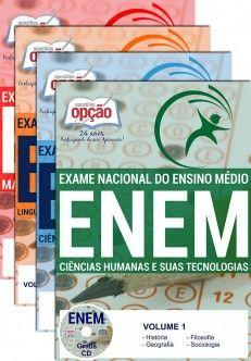 EXAME NACIONAL DE ENSINO MÉDIO - ENEM (4 Volumes)