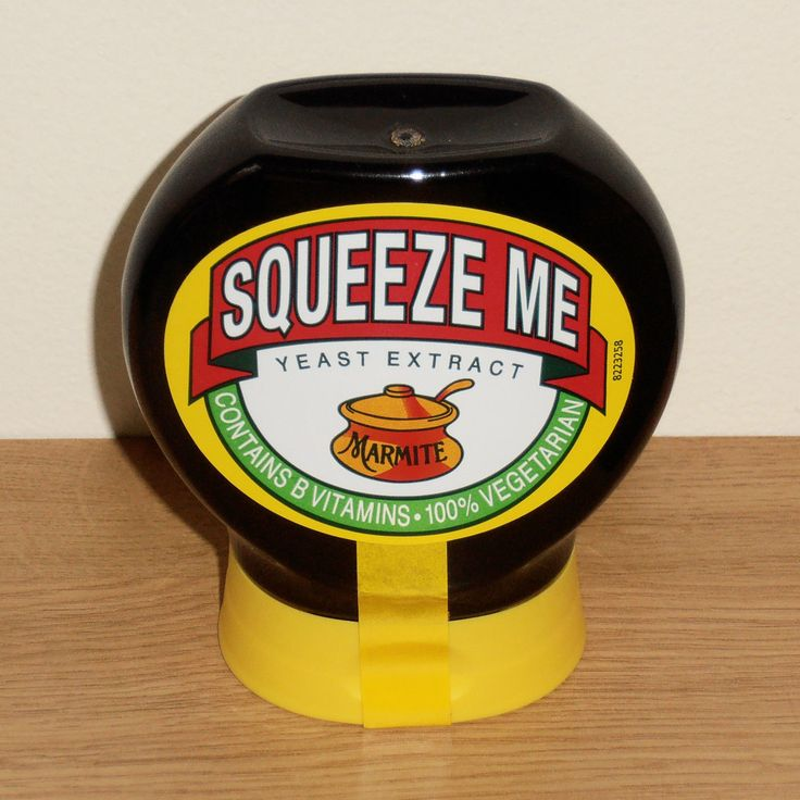 MARMITE Squeeze Me - ULTRA RARE 2006 FIRST EDITION 200g JAR Front