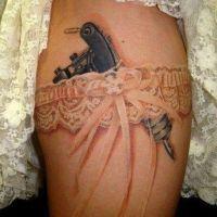 Podwiązka maszynka do tatuaży