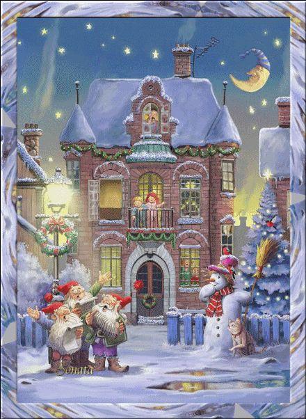 Escenas de Navidad..... | Aprender manualidades es facilisimo.com