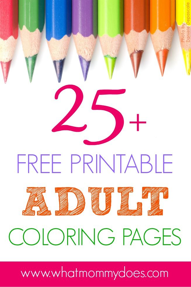 Coloring Pages Are For Grown Ups Now These Free Adult Page Printables Difficult