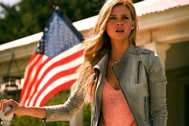 L'actrice a été le rôle féminine principal du film Transformers 4 : l'âge de l'extinction