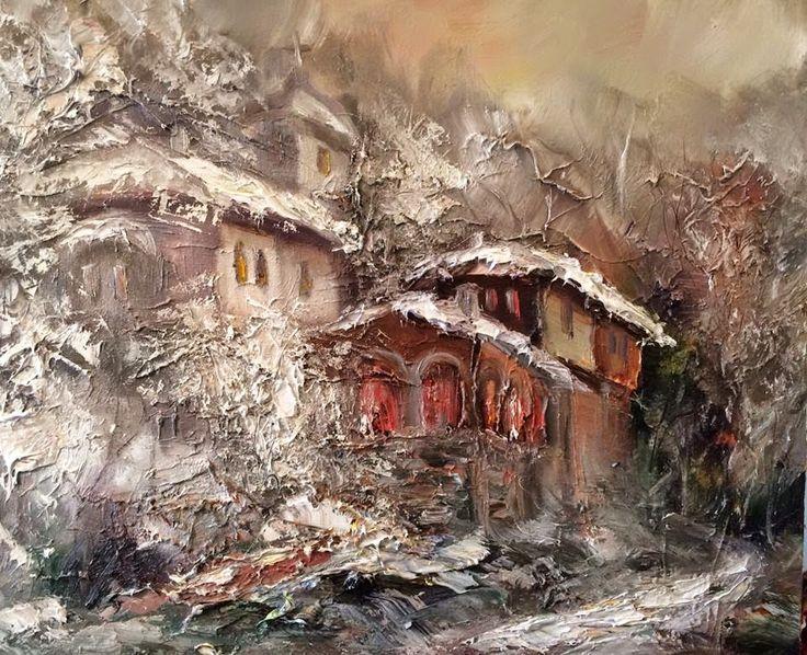 Georgi Petrov, 1978 | Abstract Landscape painter | Masterpiece of Art