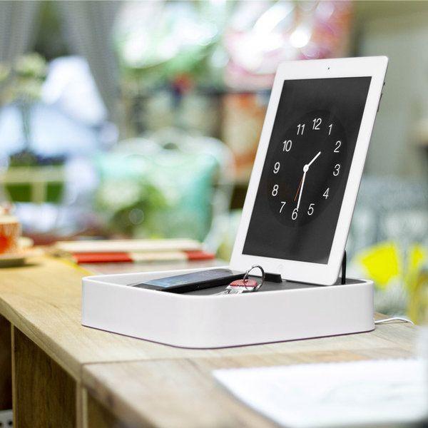 Vasque Salle De Bain Pas Cher : station de charge pour smartphones & tablettes Blue Lounge Sanctuary4