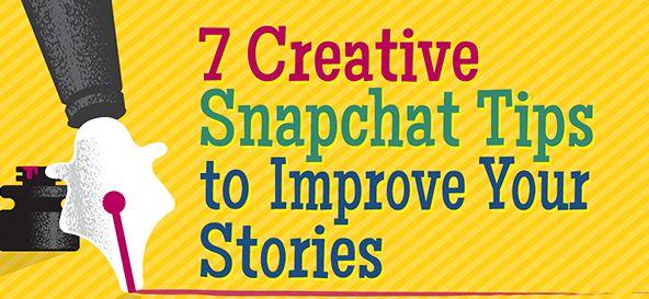 7 Creative Snapchat Tips to Improve Your Stories http://www.socialmediaexaminer.com/7-creative-snapchat-tips-to-improve-your-stories/?utm_source=Facebook&utm_medium=FacebookPage&utm_campaign=Evergreen #SocialMediaMarketing #OfcourseSocial #business #marketing #itstimetogetsocial #brand #strategy #snapchat #SocialMediaArticle