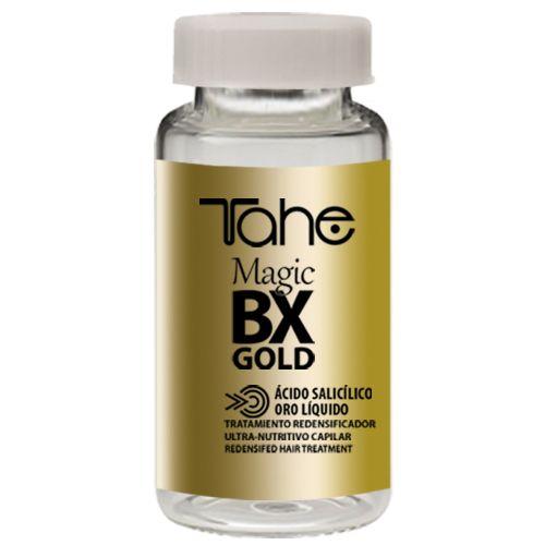 Magic Bx Gold 10ml Θεραπεία Botox με σαλικυλικό οξύ και υγρό χρυσό, για άμεση πάχυνση των ινών της τρίχας!