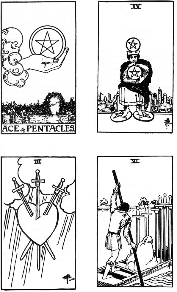 free tarot coloring pages - coleman waite tarot pg 16 learn to draw art