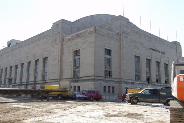 Philadelphia Convention Hall or Civic Center as seen prior to demolition