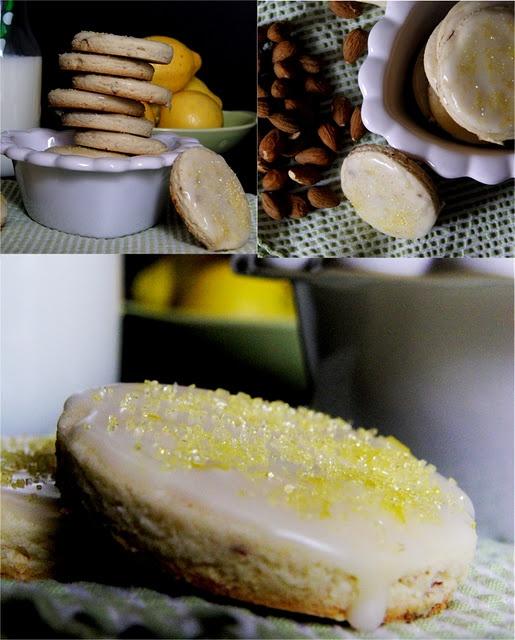 ... !! on Pinterest | Citrus tart, Glaze and Almond shortbread cookies