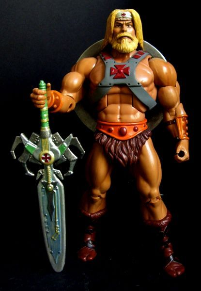 Masters of the universe classics North warrior He-man (Masters of the Universe) Custom Action Figure