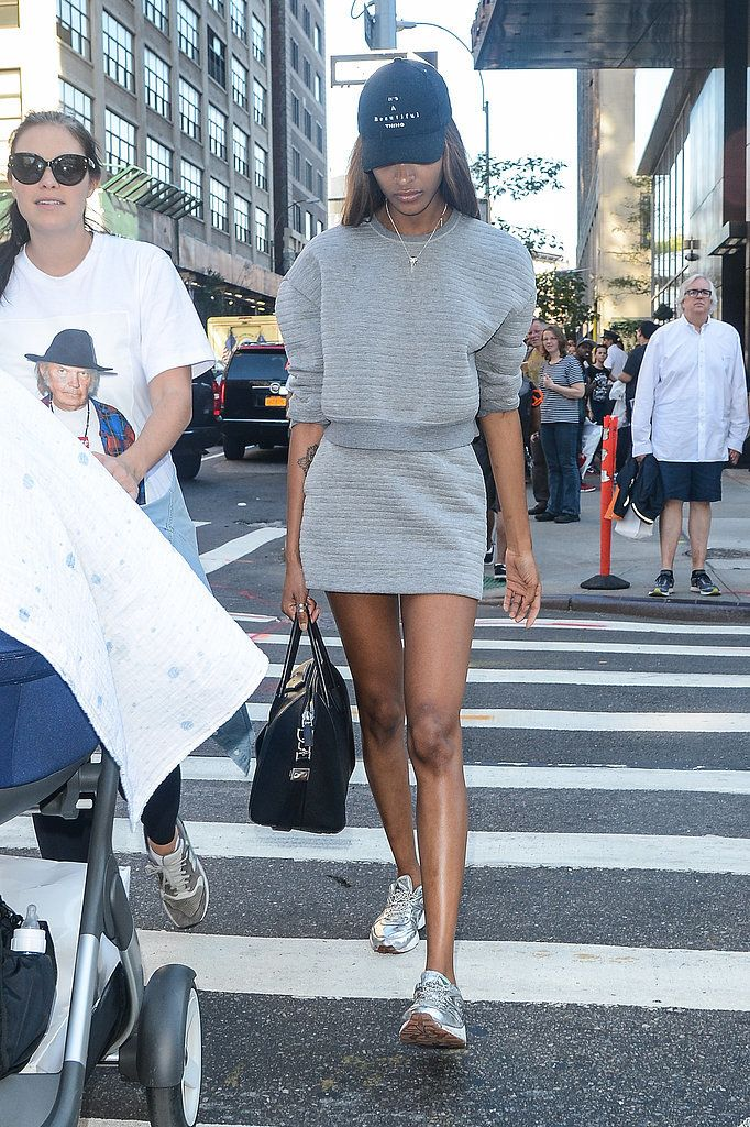 Joan Smalls' street style, as always, was to be coveted during fashion month.