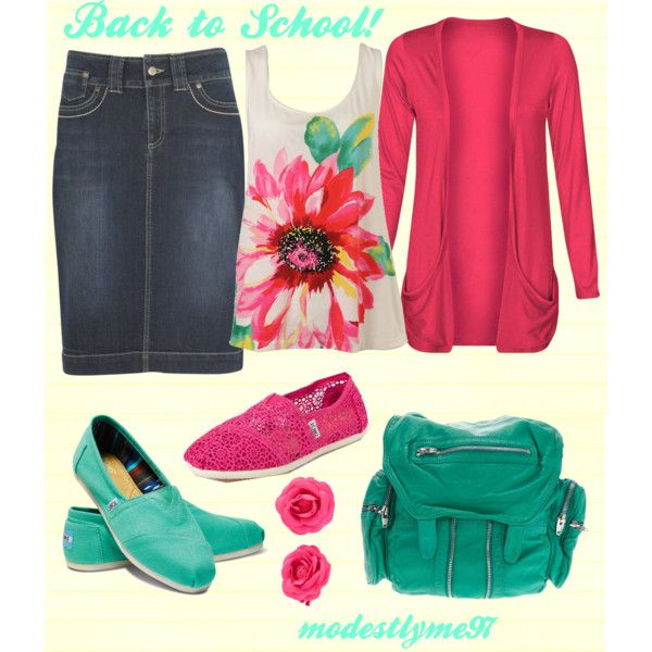 """""""Back to School #6"""" by modestlyme97 on Polyvore"""