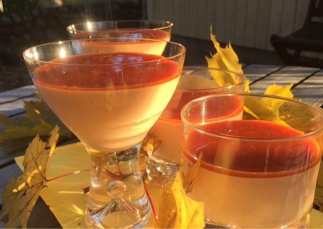 Patavahti: Ruusunmarjasta ja valkosuklaasta loistava ja helpp...