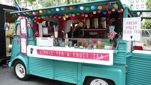 World Street Food Festival, Citroën HY, Bubble Tea & Fruit Tea