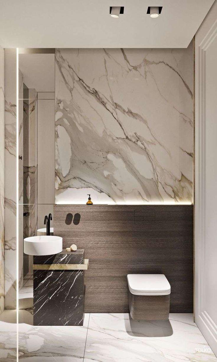 Créer une déco salle de bain marbre réussie - nos idées et