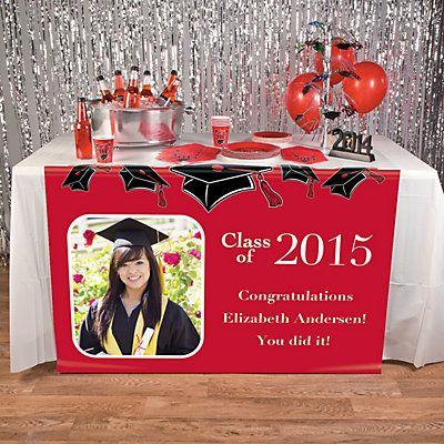 81 best graduation party ideas images on pinterest for Decoration table orientale