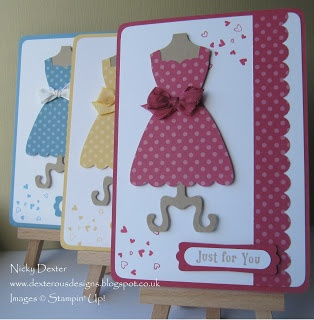 Dexterous Designs: Dress Up Swaps - Stampin' Up! Telford Training Event