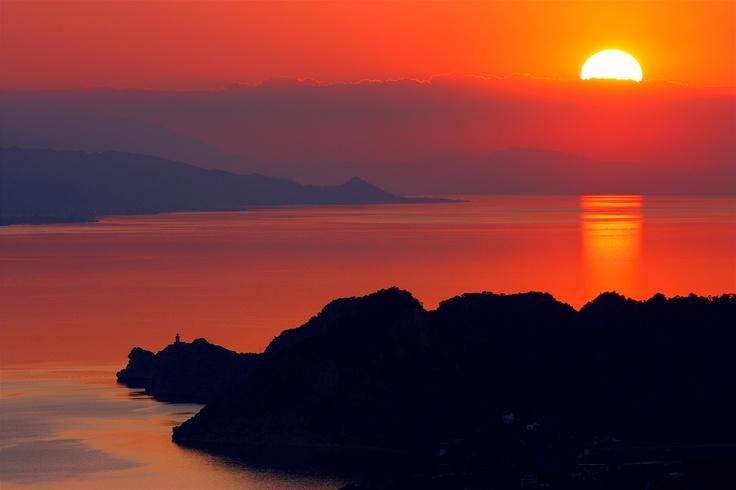 beautiful Greece! somewhere near Loutraki , Korinthia - view from Geraneia Mountains