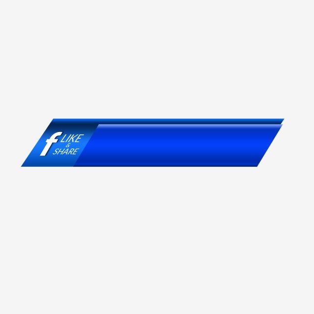 Social Media Facebook Like Share Button Icon Blue Ribbon Banner Vector Design Graphic Share Icon Facebook Icons Facebook Likes