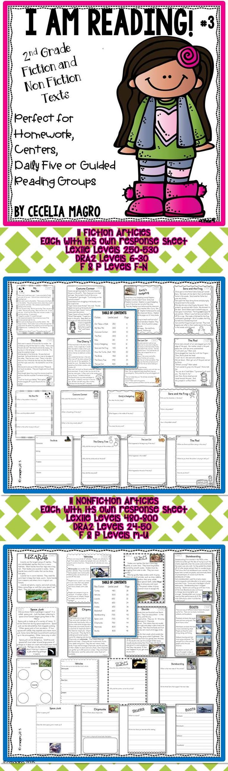 best leveled reading passages ideas guided 22 original second grade leveled reading passages and close reading activities perfectly aligned to common core