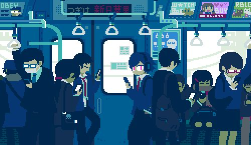 These 8-Bit GIFs Perfectly Capture the Subtle Movements in Everyday Life…