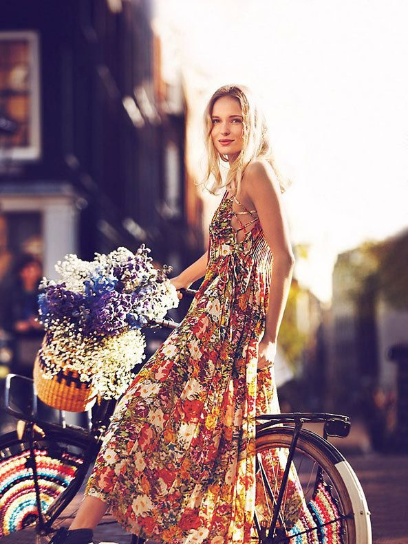 dustjacket attic: Weekend | Fashion | Bikes /// dreaming of spring