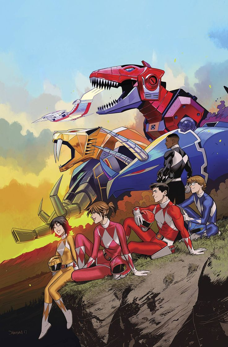 Mighty Morphin Power Rangers by Dan Mora
