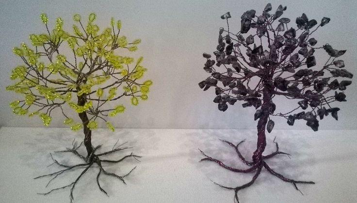 Handmade Miniature Trees 4