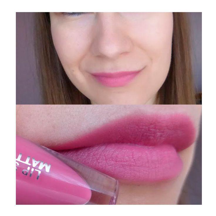 Жидкая помада мусс oriflame для губ The ONE Темно-розовый Sensation Satin Rose орифлейм Lipstick mousse Lip Matte орифлэйм 31945
