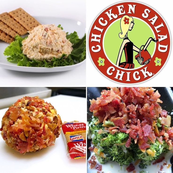 Chicken Salad Chick (Naples FL) will be at BaconFest with 4 great bacon items! 1. Sassy Scotty Chicken Salad - All white meat shredded chicken finally minced celery mayo secret seasoning ranch dressing cheddar cheese and crispy bacon. 2. Pimento Cheese Ball - A blend of freshly grated sharp and pepper jack cheeses combined with just a smidge of their creamy house dressing. Pecans and rolled in crispy bacon. 3. Bacon Broccoli Salad - Fresh broccoli florets in a sweet vinegar-based dressing…