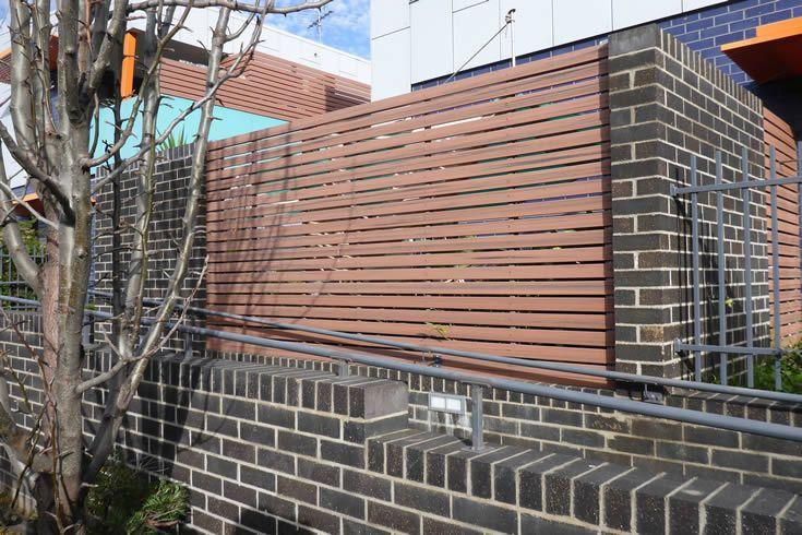 Jarrah; fencing and screening #ModWood #88mm #Screen #Fence