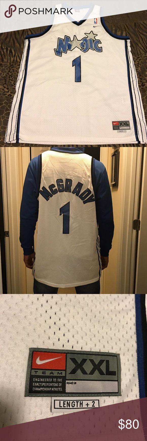 NBA jersey Tracy McGrady Orlando Magic Vintage Rare vintage Orlando Magic Tracy McGrady jersey. Great Condition. Nike Shirts Tank Tops