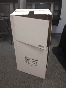 how to make a wardrobe box for moving