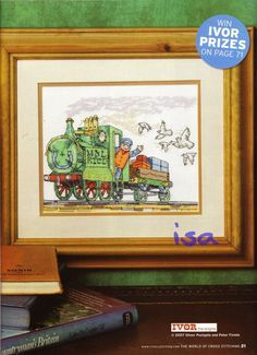 Ivor the Engine The World of Cross Stitching Issue 125 June 2007 Saved