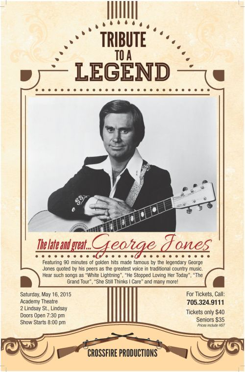 Tribute to the legend, George Jones!!