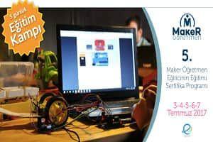 5. Maker Öğretmen Sertifika Programı