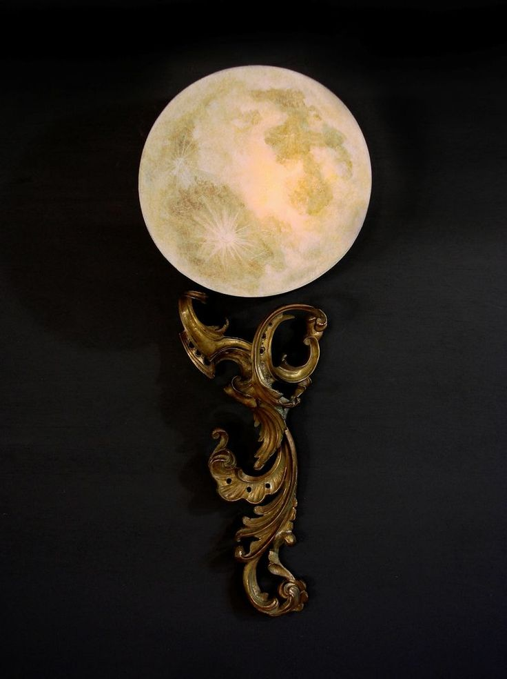 Full Moon Lamp By Art Donovan