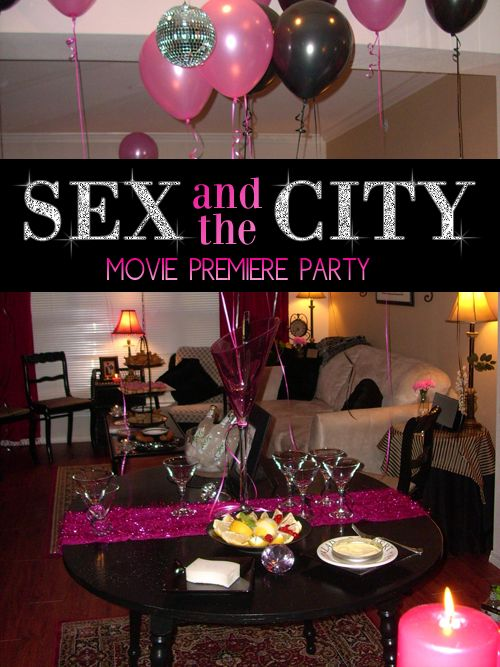 Sex party favors and ideas