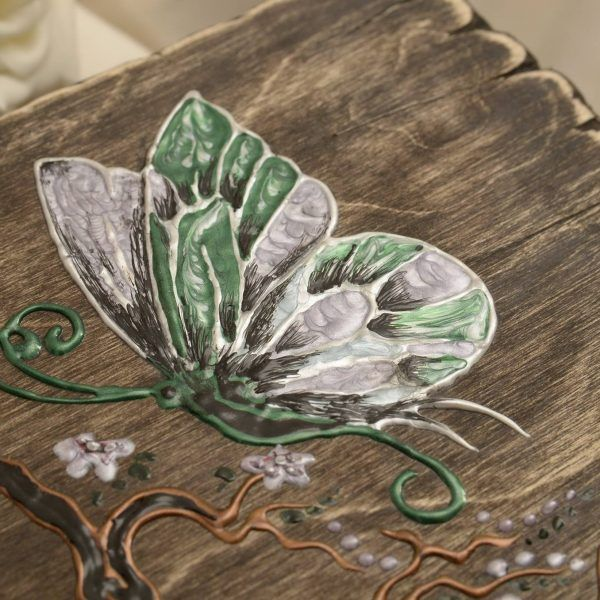 Cutie Pentru Bijuterii Butterfly - handmade with love by Gemini Atelier