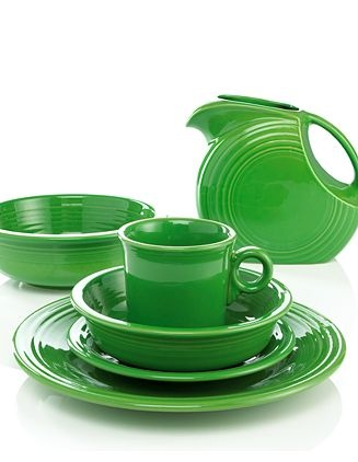 Fiestaware Shamrock...this just makes me giddy with delight!